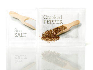 salt pepper sachets products
